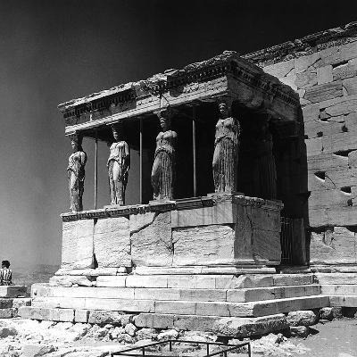 Portico of the Caryatids or Korai, Acropolis, Athens-Pietro Ronchetti-Photographic Print