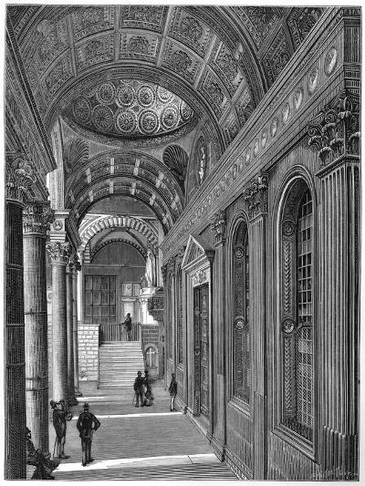 Portico of the Pazzi Chapel, Cloister of Santa Croce Basilica, Florence, 1882--Giclee Print