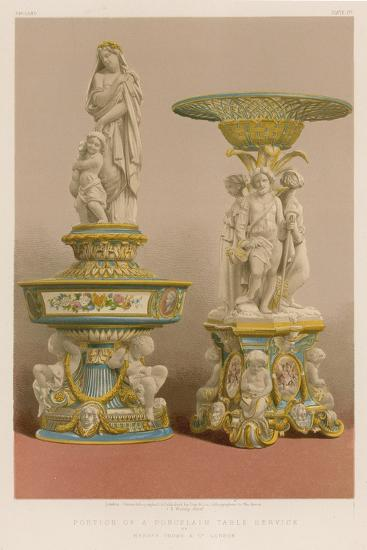 Portion of a Porcelain Table Service by Messrs Goode and Co, London--Giclee Print