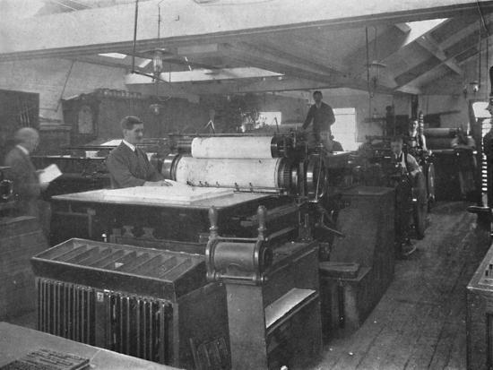 'Portion of Machine Room', 1916-Unknown-Photographic Print