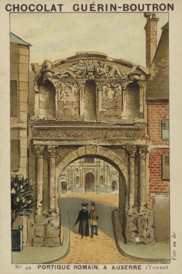 Portique Romain, a Auxerre, Yonne--Giclee Print