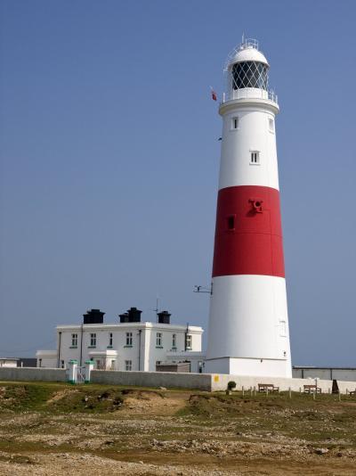 Portland Bill Lighthouse, Isle of Portland, Weymouth, Dorset, England, United Kingdom, Europe-Rainford Roy-Photographic Print