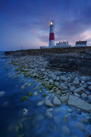 Portland Bill Lighthouse Near Portland, Dorset, England-Brian Jannsen-Photographic Print