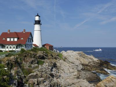 Portland Head Light, Cape Elizabeth, Maine-Keith & Rebecca Snell-Photographic Print