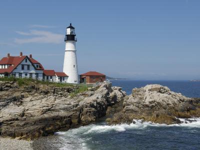 Portland Head Light, Cape Elizabeth, Maine-Keith & Rebecca Snell-Photographic Print