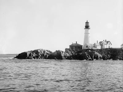 Portland Head Light, Portland, Maine, C.1900-10--Photographic Print