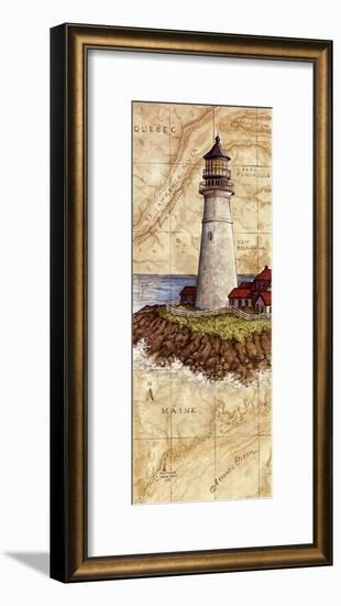 Portland Head Light-Janet Kruskamp-Framed Art Print