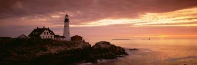 Portland Head Lighthouse, Cape Elizabeth, Maine, USA--Photographic Print