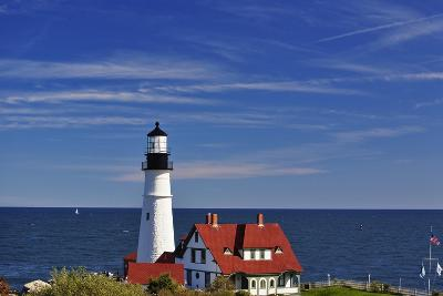 Portland Head Lighthouse Cape Elizabeth Maine-George Oze-Photographic Print