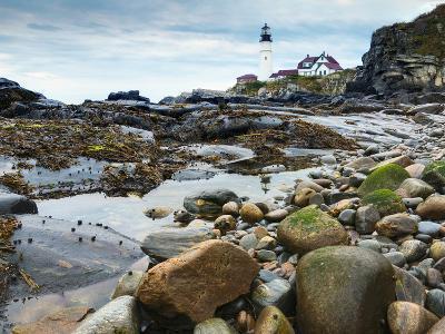 Portland Head Lighthouse, Portland, Maine, New England, United States of America, North America-Alan Copson-Photographic Print