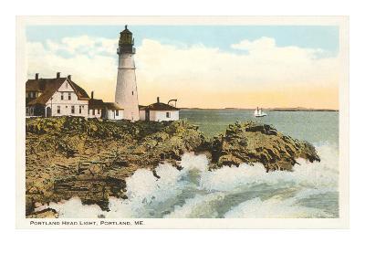 Portland Head Lighthouse, Portland, Maine--Art Print