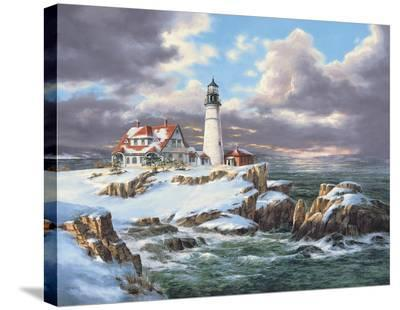 Portland Head Lighthouse-Rudi Reichardt-Stretched Canvas Print