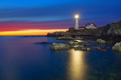 Portland Head Lighthouse-Image by Michael Rickard-Photographic Print