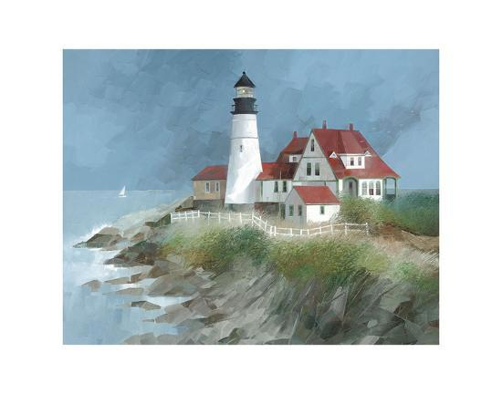 Portland Light, Maine-Albert Swayhoover-Art Print