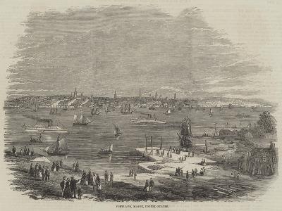 Portland, Maine, United States--Giclee Print