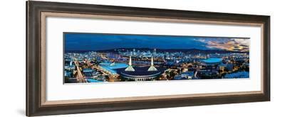 Portland, Oregon-James Blakeway-Framed Art Print