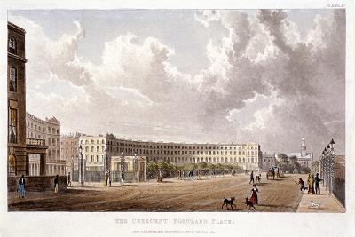 Portland Place, Marylebone, London, 1822--Giclee Print