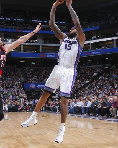 Portland Trail Blazers v Sacramento Kings-Rocky Widner-Photo