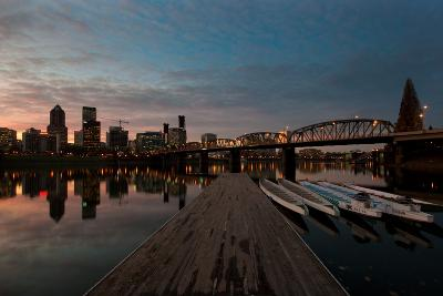 Portland Waterfront II-Erin Berzel-Photographic Print