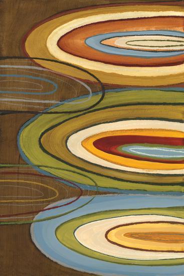 Portlandia Ovals-Jeni Lee-Art Print