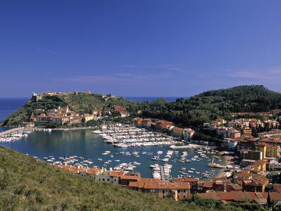 Porto Ercole, Promontorio Dell'Argentario, Tuscany, Italy-Walter Bibikow-Photographic Print