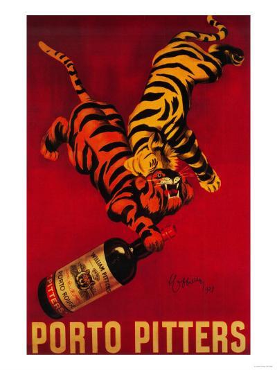 Porto Pitters Vintage Poster - Europe-Lantern Press-Art Print