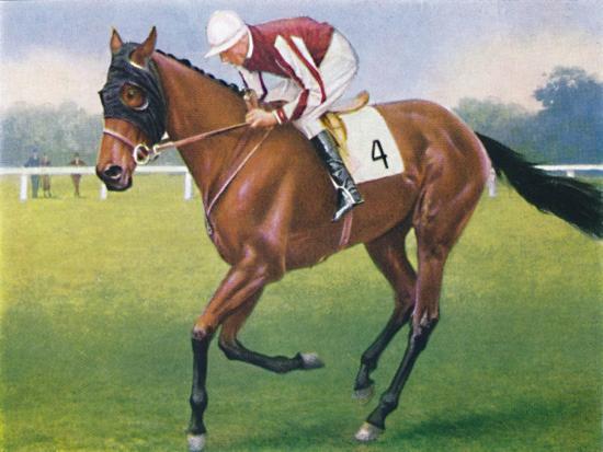 Portobello, Jockey: P. Beasley', 1939-Unknown-Giclee Print