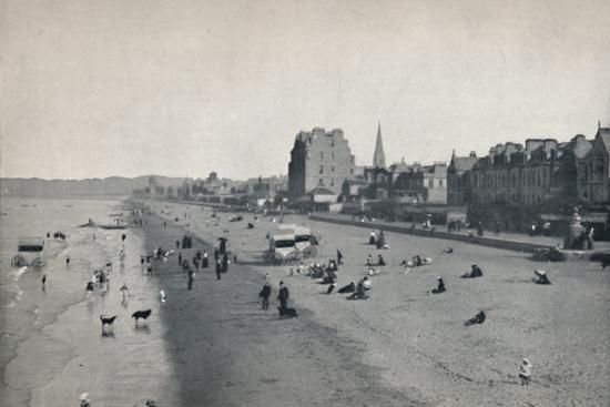 'Portobello - The Beach', 1895-Unknown-Photographic Print