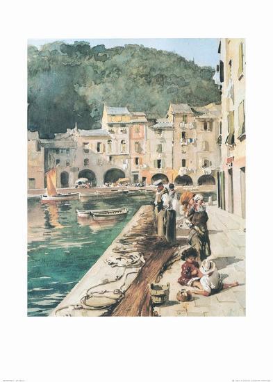 Portofino 1--Art Print