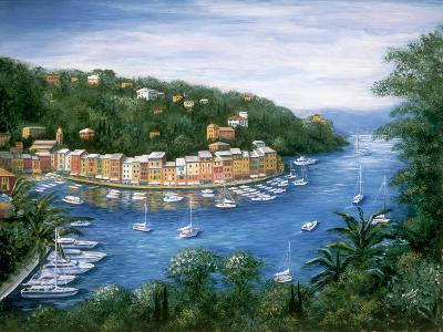 Portofino, A Majestic Panoramic View-Marilyn Dunlap-Art Print