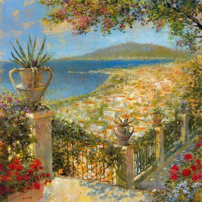 Portofino Bay II-Longo-Giclee Print