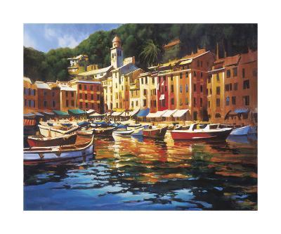 Portofino Colors-Michael O'Toole-Giclee Print