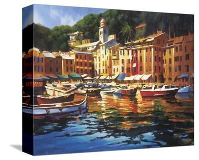 Portofino Colors-Michael O'Toole-Stretched Canvas Print