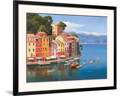 Portofino, Italian Riviera-Adriano Galasso-Framed Art Print