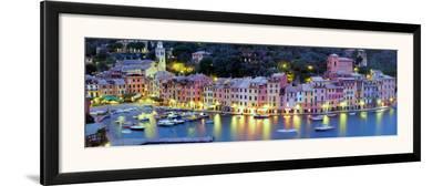 Portofino - Italy-John Lawrence-Framed Art Print