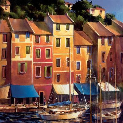 Portofino Waterfront-Michael O'Toole-Art Print