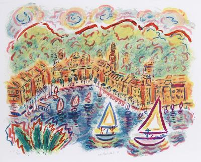 Portofino-Wayne Ensrud-Collectable Print