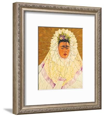 Portrait As Tehuana 1943-Frida Kahlo-Framed Art Print