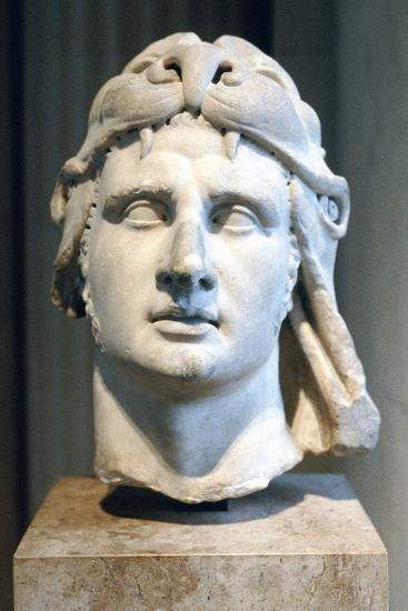 Portrait Bust of Alexander the Great--Photographic Print