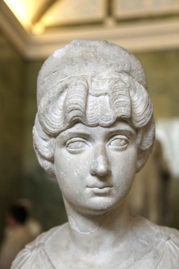 Portrait Bust of Lucilla, Wife of the Roman Emperor Lucius Verus, C160-C170--Photographic Print