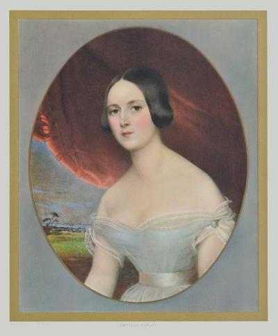 Portrait : Comtesse D'Orsay- Kobel-Collectable Print