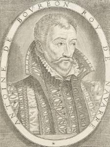 Portrait d'Antoine de Bourbon, roi de Navarre
