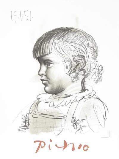 Portrait d'Enfant-Pablo Picasso-Collectable Print