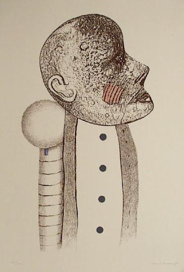 Portrait d'homme III-Uno George Svensson-Limited Edition