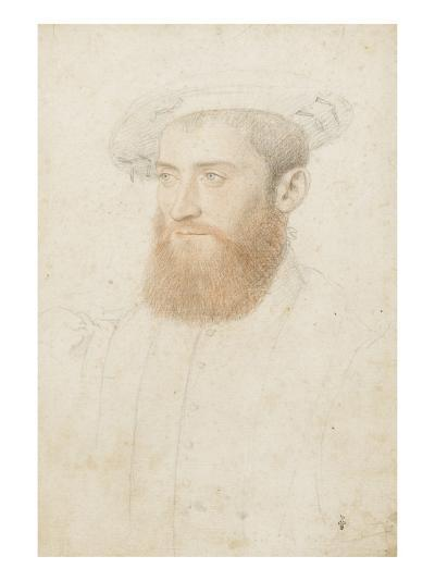 Portrait d'inconnu-Jean Clouet-Giclee Print