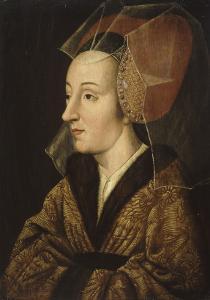 Portrait d'Isabelle de Portugal (1397-1472), épouse de Philippe le Bon