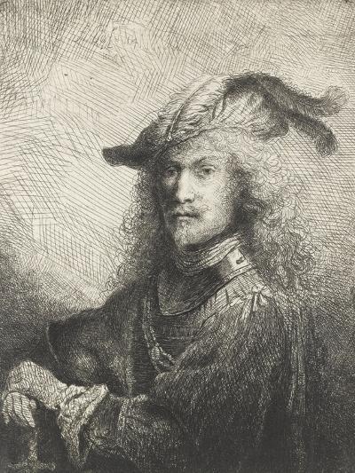 Portrait d'officier-Ferdinand Bol-Giclee Print