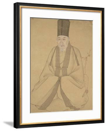 Portrait d'un lettré--Framed Giclee Print