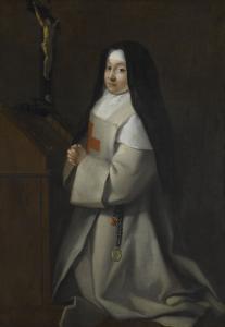 Portrait d'une jeune religieuse