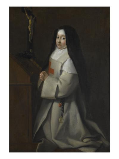 Portrait d'une jeune religieuse--Giclee Print